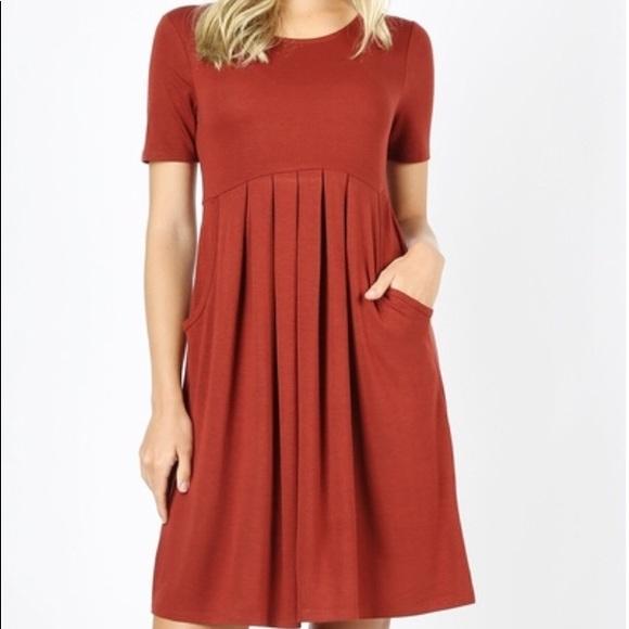 f788538b21c Zenana Pocket Dress. Boutique